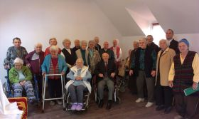 Nemes Emil kibúcsúzása a Nikodémusz Idősek Otthonából