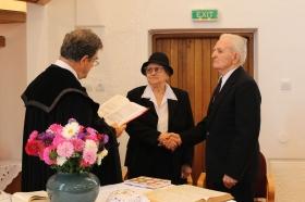 BARTHA SÁNDOR és POZSONY    TERÉZ  60 éves házassági évforduló